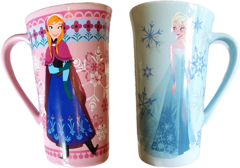 Disney Frozen Ceramic Gift Tea Coffee Mugs Elsa Anna Olaf Gift Boxed Present NEW