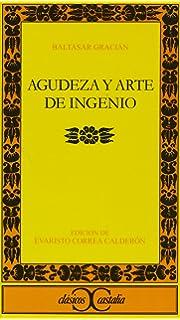 Agudeza y arte de ingenio, I (Clasicos Castalia) (Spanish Edition)