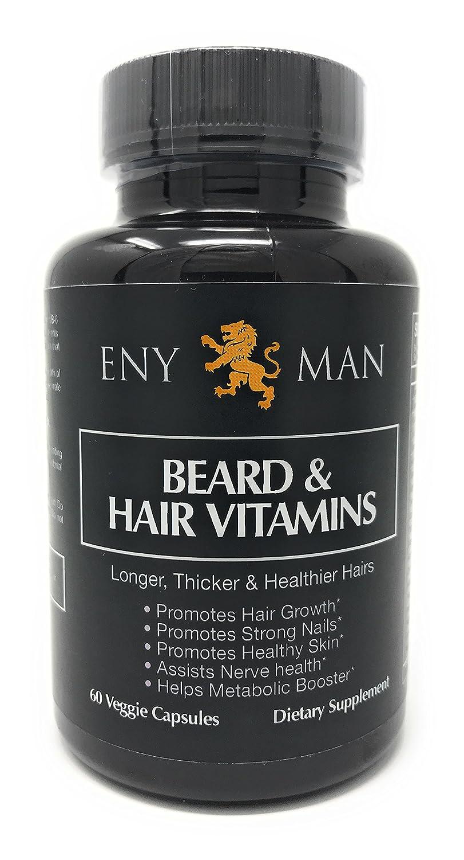 El suplemento para el crecimiento de la barba con vitaminas ...