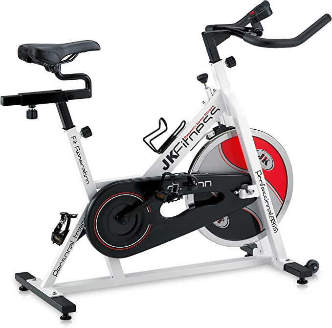 Jk Fitness JK4500 - Bicicleta de Spinning: Amazon.es: Deportes y ...
