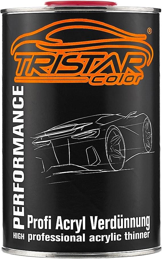 Tristarcolor 1 Liter 1k 2k Acrylverdünner Acrylverdünnung Für Autolack Basislack Klarlack Grundierung Auto
