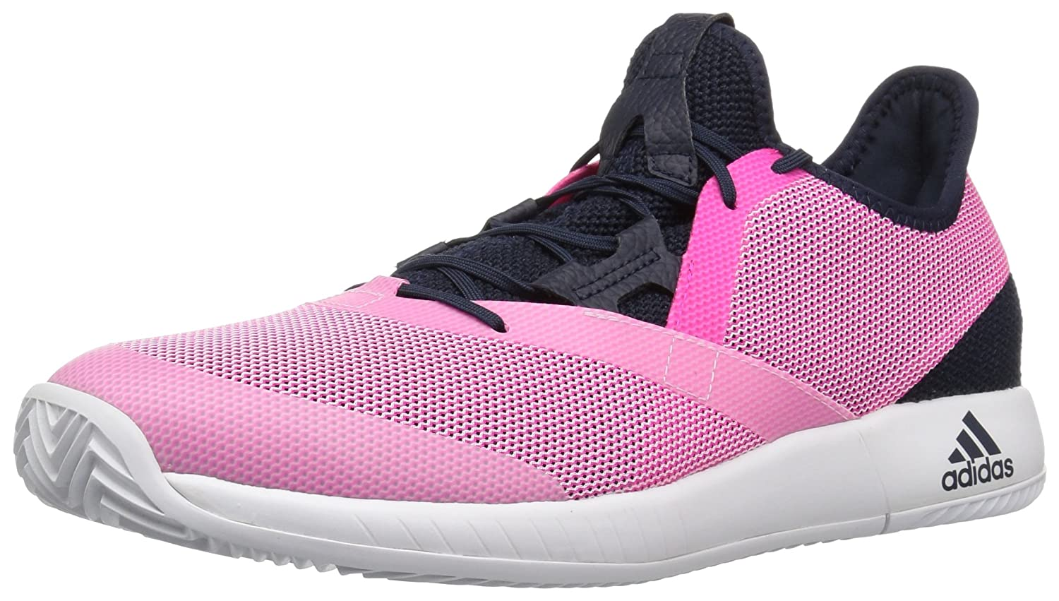 adidas Women's Adizero Defiant Bounce B077X558K9 8.5 B(M) US|Legend Ink/Shock Pink/White