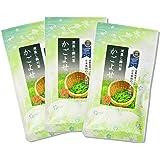 静岡県産 掛川茶 かごよせ 100g×3本 深蒸し掛川茶 リーフ