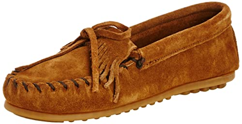 Thunderbird II, Mocasines infantil, Marrón (Brown), 32/33 EU Minnetonka