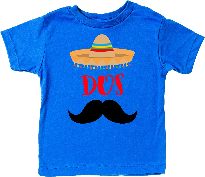 2nd Birthday Dos Shirt Fiesta Themed Second Birthday Sombrero Birthday Shirt Mustache Birthday Outfit for Baby Boy Blue Short Sleeve Shirt 81ZbE4BiHtL