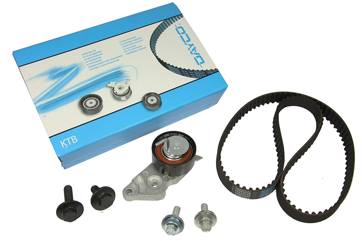 Dayco Ktb286 Timing Belt Kit Car Motorbike Porsche