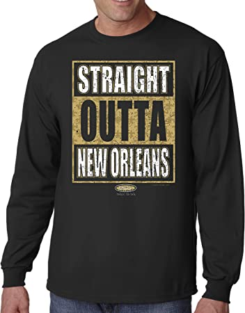 Black and Gold Til Im Dead and Cold New Orleans Saints Fans Black T-Shirt Sm-5X