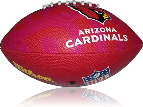 Wilson Football NFL Junior Arizona Cardinals Logo - Balón de ...