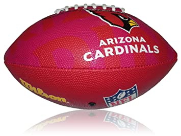 Wilson Football NFL Junior Arizona Cardinals Logo - Balón de fútbol americano (infantil, caucho), color multicolor, talla 5: Amazon.es: Deportes y aire ...