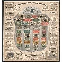 Historic Photos Specimen fractional Currency Advertiser