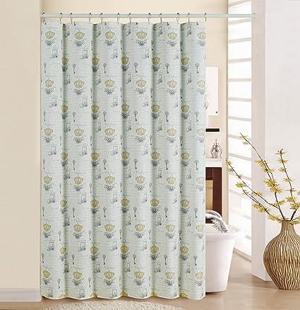 WAVERLY Shower Curtain Set 70quot X 72quot