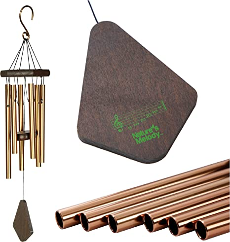 Wind Chimes Bell Bird Wooden House Landscape Home Garden Patio Room Decor ONE