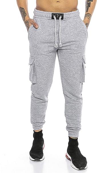 conservador una vez Escalofriante  Redbridge Pantalón Chandal para Hombre Joggers Sweat-Pants Premium Silver-Skull:  Amazon.es: Ropa y accesorios