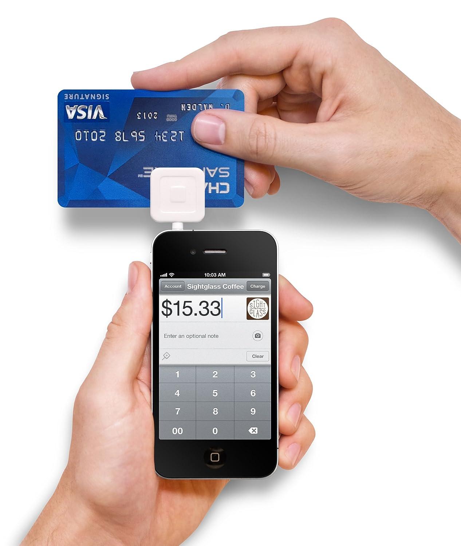 Cuadrado Lector de Tarjetas de crédito/débito para iPhone/iPad ...