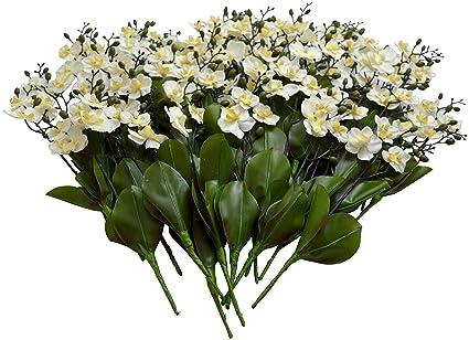 Amazon sia home fashions 12 pack dcor permanent botanicals 11 sia home fashions 12 pack dcor permanent botanicals 11 inch orchid spray mini mightylinksfo