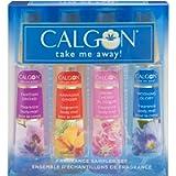Calgon take me Away 4 Pc Gift Set (Refreshing Body Mist 2.0 Oz Of Spring Cherry Blossom Hawaiian Ginger Morning Glory…