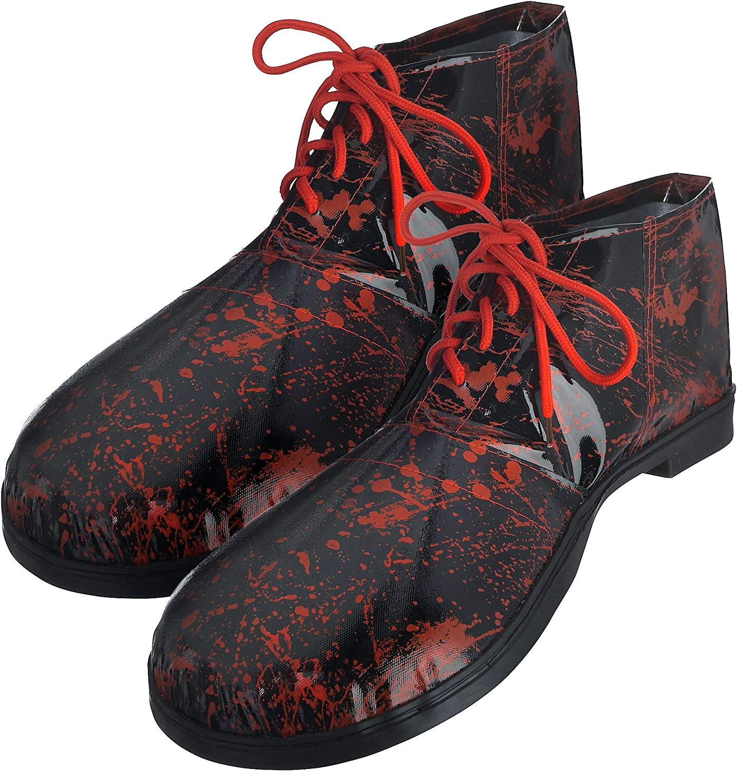 One Size amscan Bloody Clown Shoes Halloween Costume Accessories for Adults