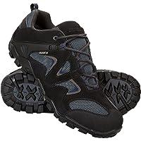 Mountain Warehouse Chaussures de Marche Imperméables Hommes Curlews - Séchage rapide, Revêtement en daim et Maille, Semelle Caoutchouc - Idéales pour un Usage Quotidien