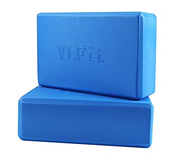 VLFit Juego de 2 Espuma EVA Bloques de Yoga