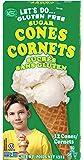 Let's Do, Sugar Cones, 4.6 Ounce