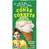 Let's Do… Gluten Free Sugar Cones, 132 Grams