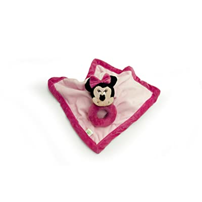 Disney Baby Security Blanket with Ring Rattle, Minnie (Discontinued by Manufacturer) : Baby