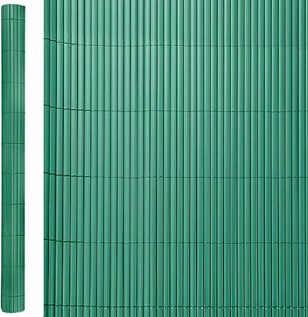 Cañizo Artificial de ocultación para jardín de PVC Verde - LOLAhome: Amazon.es: Hogar