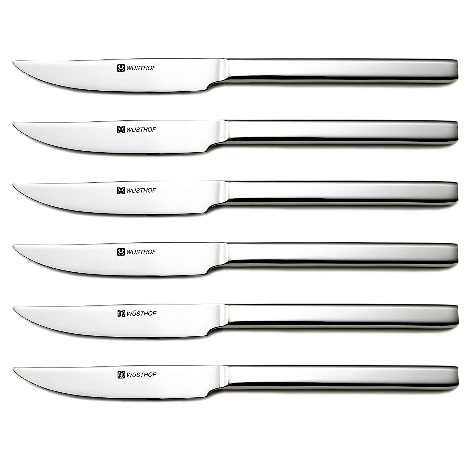 Wüsthof 8566 Stainless Steak Knife Set Silver