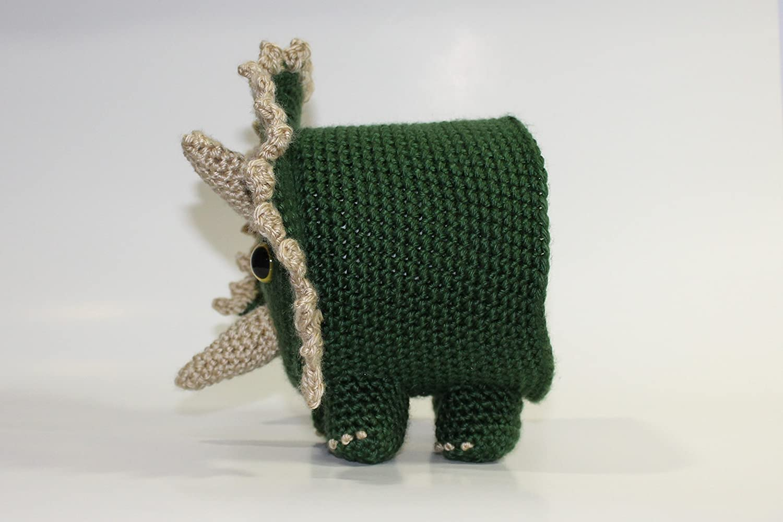 Amazon Crochet Triceratops Toilet Paper Cover Handmade Handmade