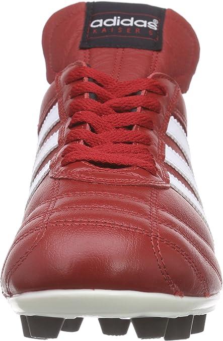 adidas Kaiser 5 Liga Botas para Hombre, Color RojoBlancoNegro