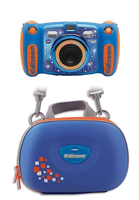 VTech 80-507114 Kinderkamera mit Tasche