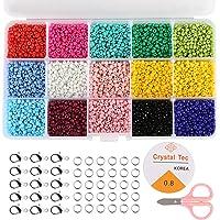 Naler 7500 Cuentas de Colores 3mm Mini Cuentas