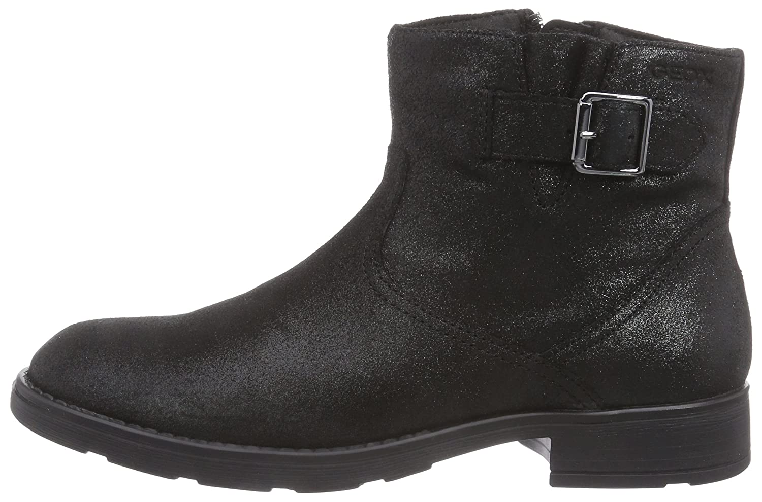 3113be43c90 Geox Jr Sofia a, Girls' Cold lined biker boots short shaft boots and  bootees: Amazon.co.uk: Shoes & Bags