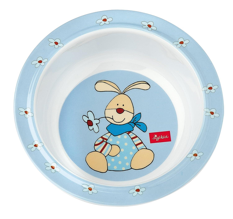 Sigikid Melamin Geschirr Set Hase Semmel Bunny Blau