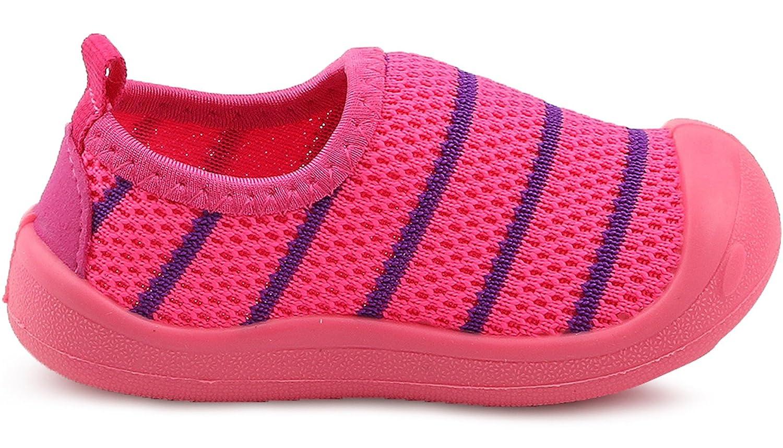 PPXID Babys Toddler Boys Girls Lightweight Mesh Slip-on Loafers Running Sneakers