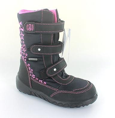 c4b5ddd1779957 RICHTER Boots Gr. 25 schwarz fuchsia Mädchenschuhe Winter Stiefel SympaTex