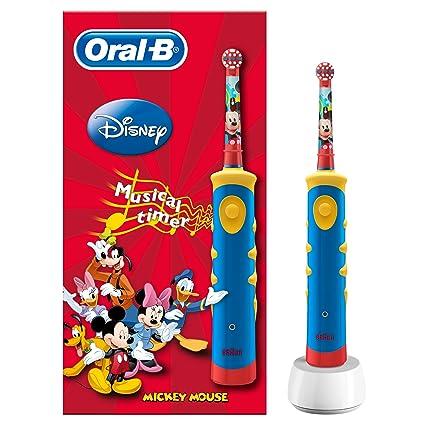 Oral-B Kids Niño Cepillo dental oscilante Multicolor - Cepillo de dientes eléctrico (Batería