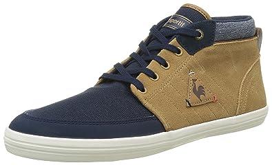 Le Coq Sportif Montferetcraft HVY CVS, Haute Sneakers Hommes, Bleu (Dress Blue/Tan), 41 EU