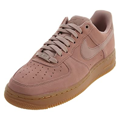Nike Air Force 1 '07 LV8 Suede Sneakers Rosa Marrone AA1117
