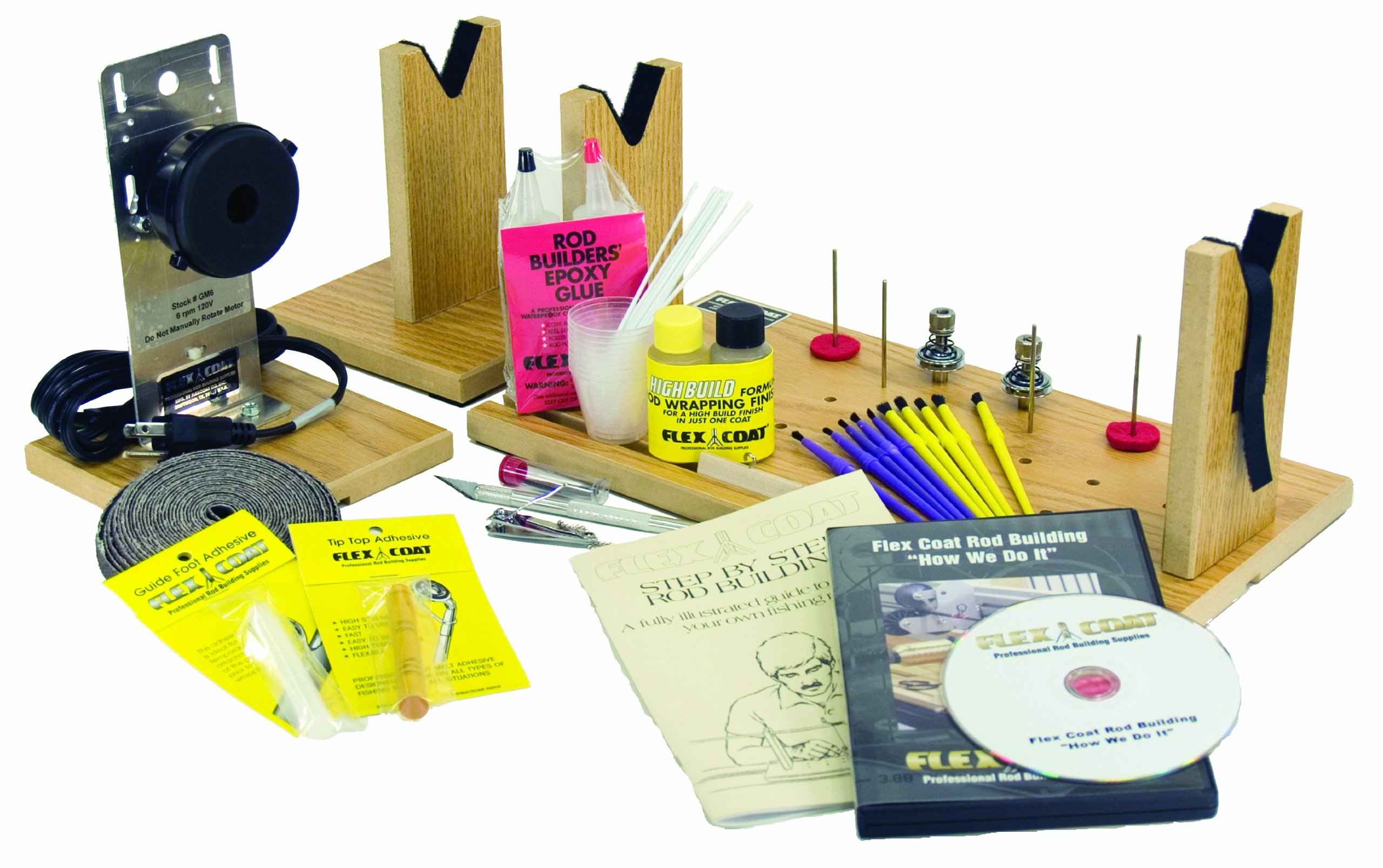 Flex Coat Rod Building Start-up Kit by Flex Coat