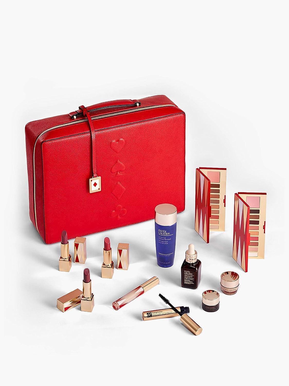 Estee Lauder Blockbuster Cuidado de la piel y maquillaje con estuche de belleza: Amazon.es: Belleza