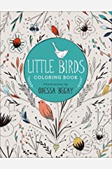 Little Birds: Coloring Book Paperback