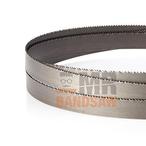 1435 x 13 x 0.65mm x 10/14 TPI M42 Bimetal cuchilla para sierra