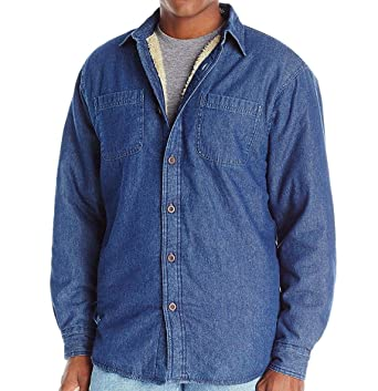 e31bdfa7ca1 Image Unavailable. Image not available for. Color  Wrangler Mens Sherpa  Lined Long Sleeve Flannel Shirt ...