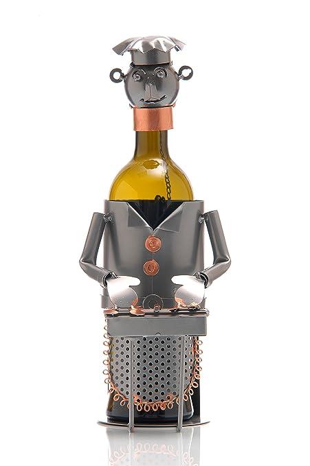 Ludi-Vin Puerta Botella Metal Barbacoa