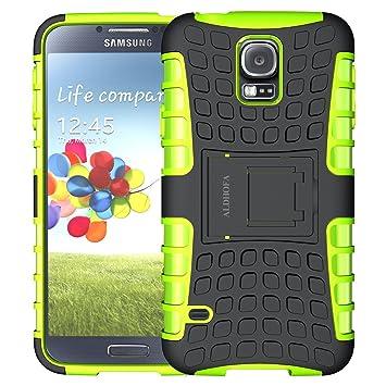ALDHOFA - Carcasa para Samsung Galaxy S5, de Doble Capa ...