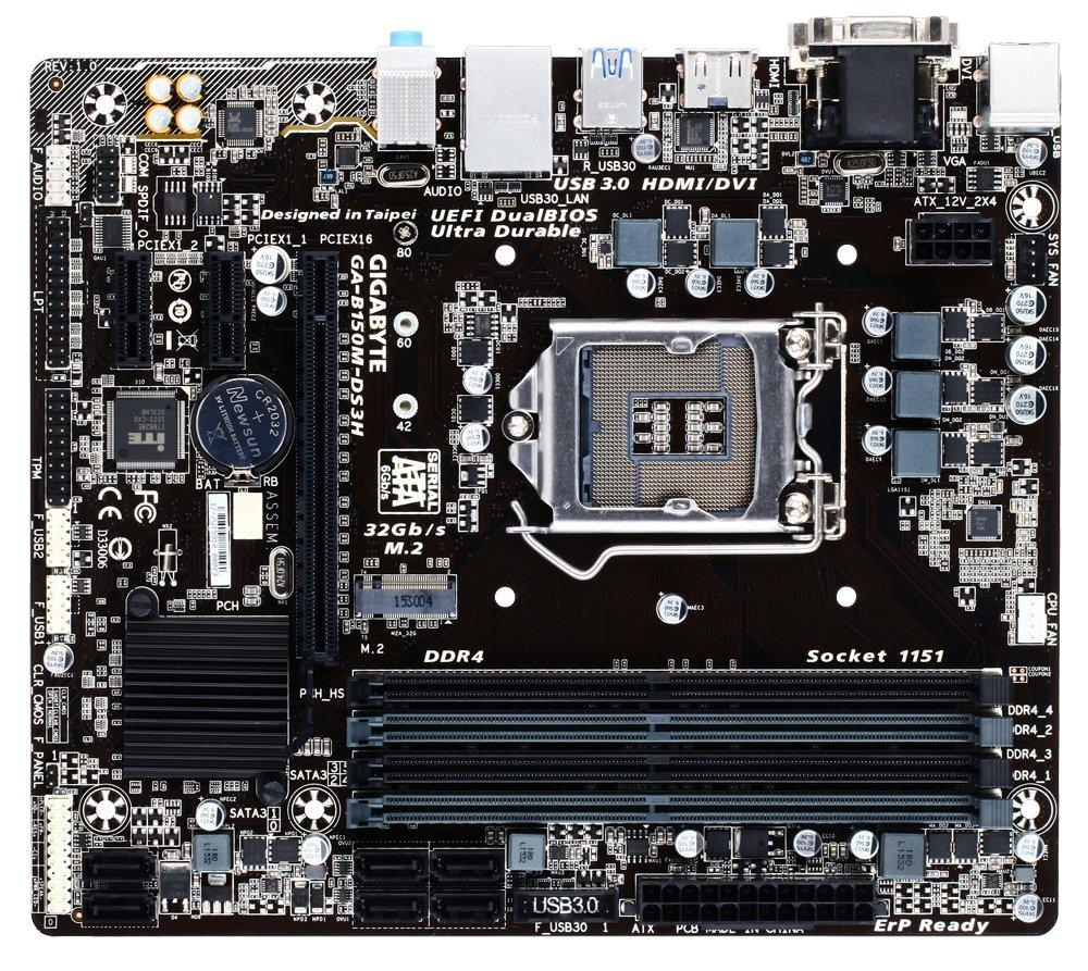 Gigabyte GA-B150M-DS3H Intel RST Linux