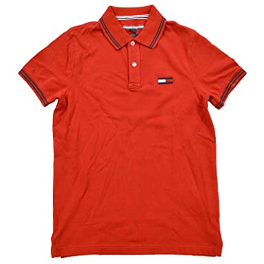 a66a9e50 Tommy Hilfiger Mens Big Logo Polo Shirt at Amazon Men's Clothing store: