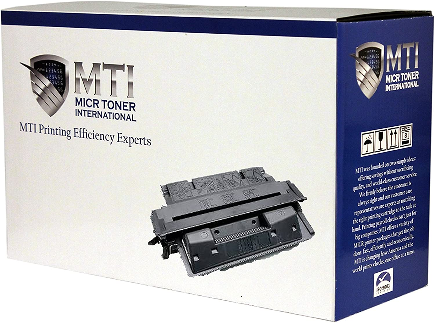 MICR Toner International Compatible Magnetic Ink Cartridge Replacement for HP 27X C4127X LaserJet 4000 4050