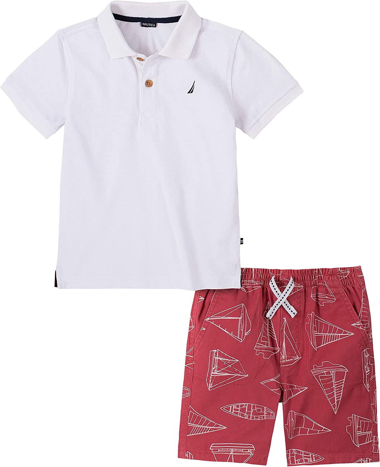 Nautica Sets (KHQ) Boys' Polo Shorts Set